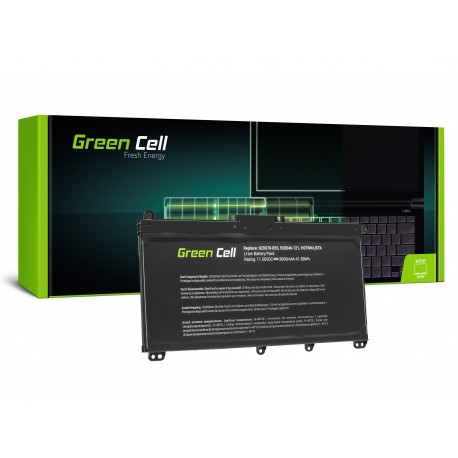 Green Cell Bateria para HP Pavilion 14 15 17 17Z TF03XL - 11,55V 3600mAh (HP145)
