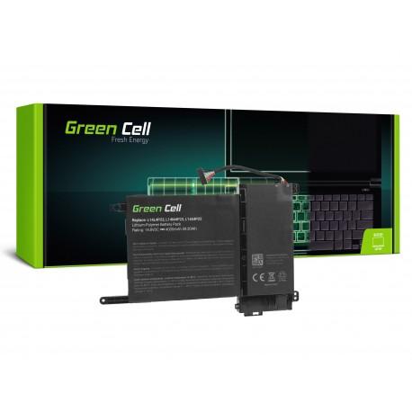 Green Cell Bateria para Lenovo IdeaPad Y700-15ACZ Y700-15ISK Y700-17ISK - 14,4V 4000mAh (LE100)