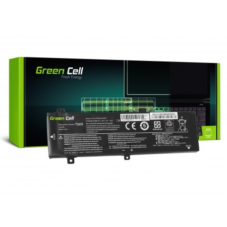 Green Cell Bateria para Lenovo V310 V310-14 V310-15 V510 V510-14 V510-15 - 3500 mAh 7.6 V (LE118)