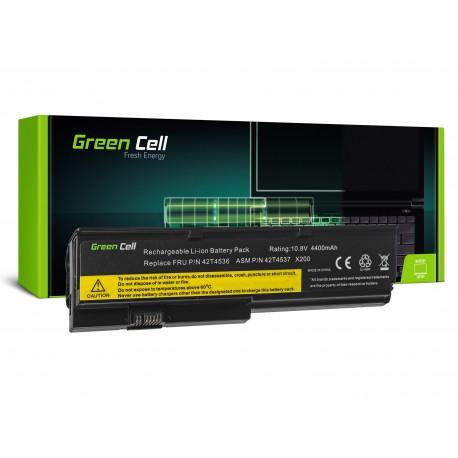 Green Cell Bateria Compatível LENOVO ThinkPad X220 série - 11,1V 4400mAh (LE35)
