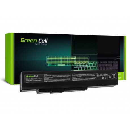 Green Cell Bateria para MSI A6400 CR640 CX640 MS-16Y1 - 14,4V 4400mAh (MS04)