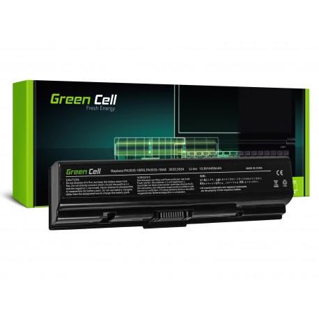 Green Cell Bateria para Toshiba Satellite A200 A300 A500 L200 L300 L500 - 11,1V 4400mAh (TS01)