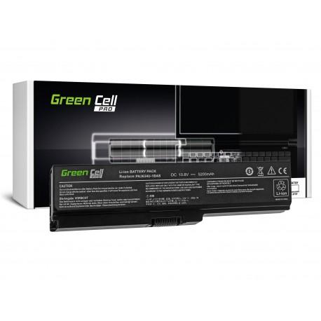 Green Cell PRO Bateria para Toshiba Satellite A660 A665 L650 L650D L655 L670 L670D PA3634U-1BRS - 11,1V 5200mAh (TS03PROV2)