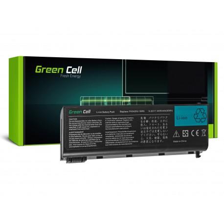 Green Cell Bateria para Toshiba Satellite L10 L15 L20 L25 L30 L35 L100 - 14,4V 4400mAh (TS07)