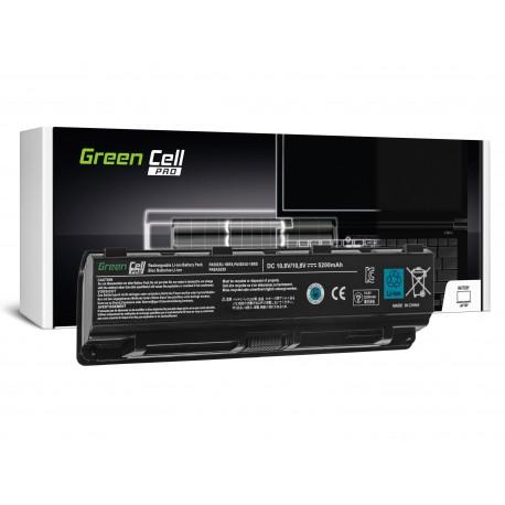 Green Cell PRO Bateria para Toshiba Satellite C850 C855 C870 L850 L855 PA5024U-1BRS - 10,8V 5200mAh (TS13PRO)