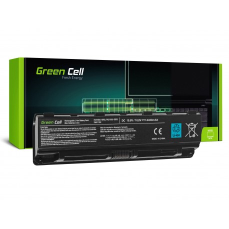 Green Cell Bateria para Toshiba Satellite C850 C855 C870 L850 L855 PA5109U-1BRS - 10,8V 4400mAh (TS13V2)