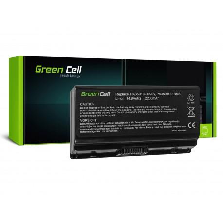 Green Cell Bateria para Toshiba Satellite L40 L45 L401 L402 PA3591U-1BRS - 14,4V 2200mAh (TS14)