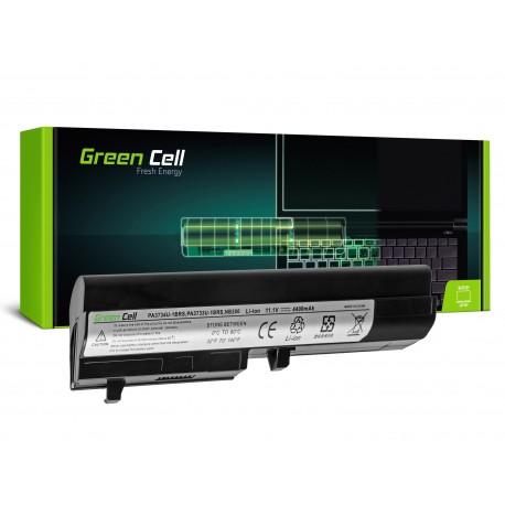 Green Cell Bateria para Toshiba Mini NB200 NB205 NB250 PA3732U-1BRS - 11,1V 4400mAh (TS17)
