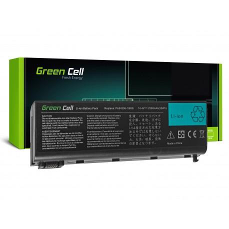 Green Cell Bateria para Toshiba Satellite L10 L15 L20 L25 L30 L35 L100 - 14,4V 2200mAh (TS36)