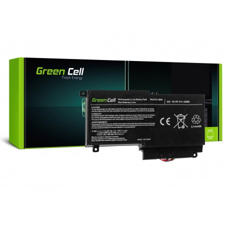 Green Cell Bateria para Toshiba Satellite L50-A L50-A-19N L50-A-1EK L50-A-1F8 L50D-A P50-A S50-A - 14,4V 2838mAh (TS51)
