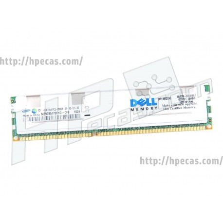 DELL 4GB (1X4GB) 2Rx4 PC3-8500R DDR3-1066 Registered CL7 ECC 1.5V STD (HMT151R7TFR4C-G7, M393B5170FHD-CF8, SNPG484DC/4G) R