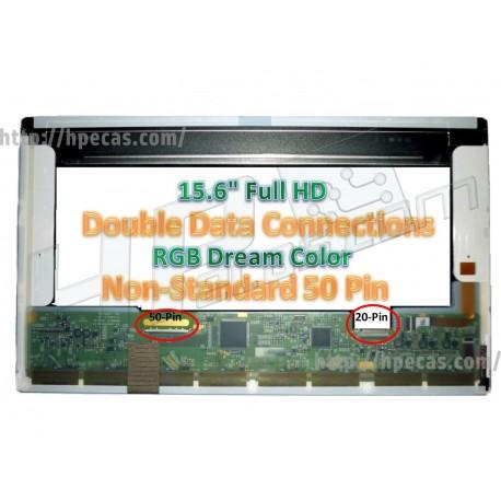 "Monitor LCD 15.6"" 1920x1080 Full HD LED Matte  (535367-2D2, LP156WF3-SLB1)"