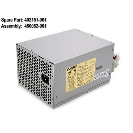 480082-001 HP Fonte 325W PFC - ML370 G1