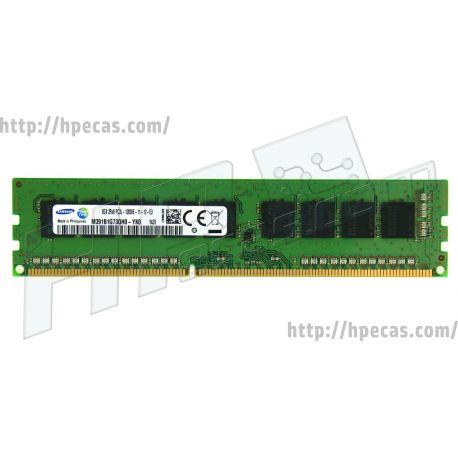 Memória 8GB (1X8GB) 2Rx8 PC3L-12800E DDR3-1600 UDIMM CL11 ECC 1.35V LV STD (713752-081, 713979-B21, 715281-001, M391B1G73BH0-YK0, M391B1G73QH0-YK0) (C)