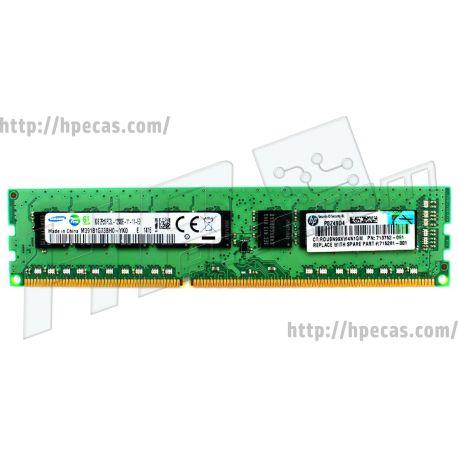 HPE 8GB (1x8GB) 2Rx8 PC3L-12800E-11 ECC LV-UDIMM 1.35V 240-pin Dimm STD (713752-081, 713979-B21, 715281-001, M391B1G73BH0-YK0, M391B1G73QH0-YK0) N