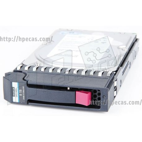 HPE MSA 8TB 12G SAS 7.2K LFF (3.5IN) 512E MIDLINE 1YR WARRANTY HARD DRIVE (M0S90A, 813866-001) R