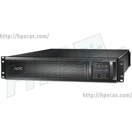 APC Smart-UPS X 2200VA Rack/Tower with LCD 200-240V (SMX2200RMHV2U)