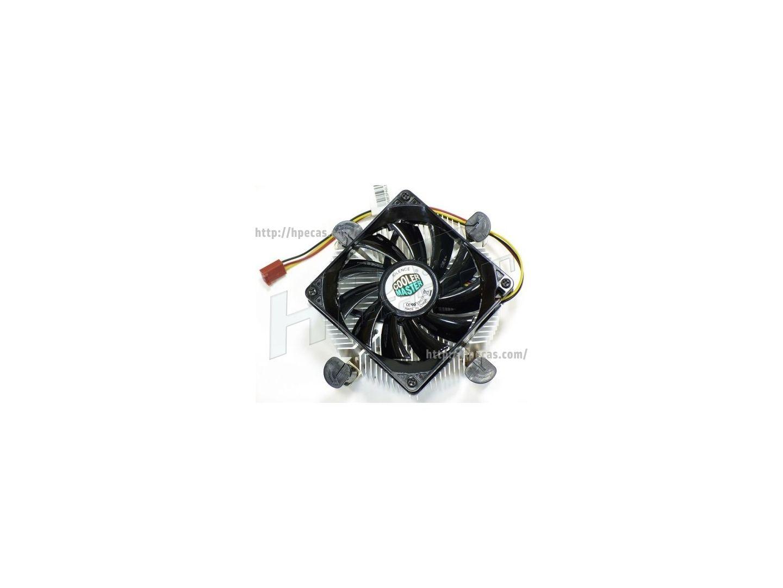 Dissipador e Ventoinha Cooler Master Socket LGA 775 Low Profile (DI5