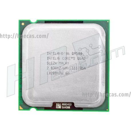 Intel® Core™2 Quad Processor Q9500 (6M Cache, 2.83 GHz, 1333 MHz FSB)
