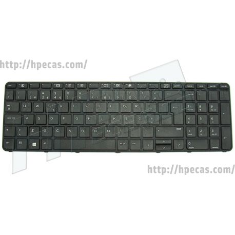 "Teclado PT c/Pointing Stick s/Backlight para HP ProBook 640 G2 G3, 645 G2 G3, 650 G2 G3, 655 G2 G3 15"" (831021-131, 841136-131)"