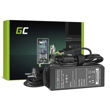 Green Cell Carregador AC Adapter para Lenovo 65W - 20V 3.25A - Slim Tip (AD38)
