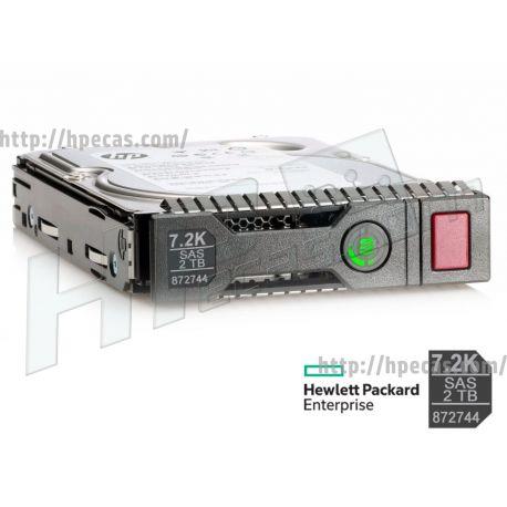 "HPE 2TB 7.2K 12Gb/s DP SAS 3.5"" LFF HP 512n MDL DS Gen9-Gen10 SC HDD (872485-B21, 872485-S21, 872744-001) N"