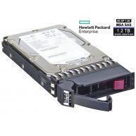 "HPE 2TB 7.2K 6Gb/s DP SAS 3.5"" LFF HP 512n MDL for MSA MC HDD (605475-001, AW555A, BU882A, BU886A) R"