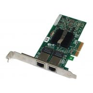 PCI Express Dual Port Gigabit Server Adapter HP NC360T (412646-001, 412648-B21, 412651-001) High Profile (R)