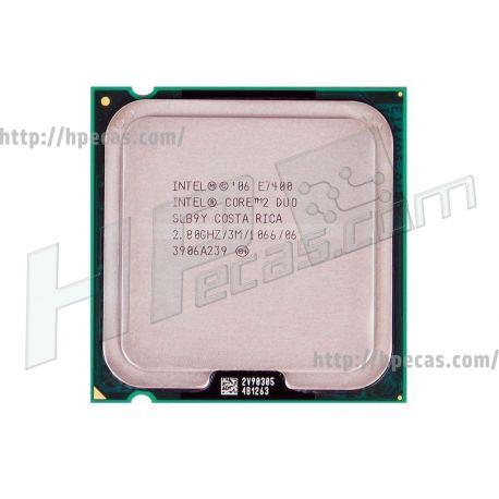 Intel® Core™2 Duo Processor E7400, 3M Cache, 2.80 GHz, 1066 MHz FSB, LGA775, SLB9Y, SLGW3 (R)