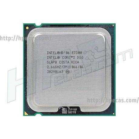 Intel® Core™2 Duo Processor E7300, 3M Cache, 2.66 GHz, 1066 MHz FSB, LGA775, SLGA9, SLAPB (N)