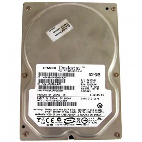 """449978-001 HP Disco Rigido 80 GB Sata 3.5"""" 7200RPM"""