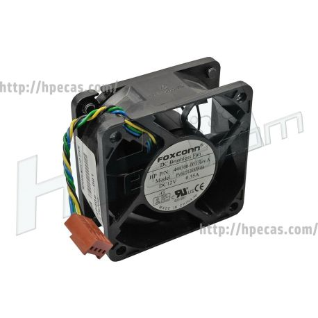 HP Rear Chassis Fan 60x60x25mm for Ultra-Slim (444306-001, 451385-001, 453068-001, 499202-001, 595216-001, 605155-001, 691352-001) R