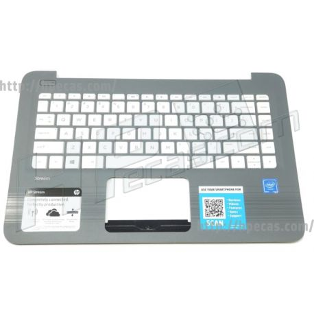 HP Top Cover Smg W Kb Snw Port (933583-131)