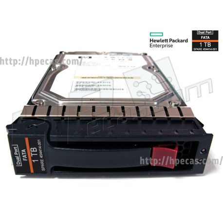 """HPE 1TB 7.2K 4Gb/s DP FC 3.5"""" LFF HS 512n For EVA M6412 ST HDD (454414-001, 671148-001, AG691A, AG691B) R"""