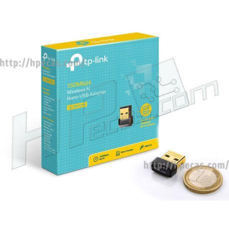 TP-LINK 150Mbps wireless N Nano USB adapter (TL-WN725N) N
