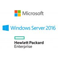 HPE Microsoft Windows Server 2016 Standard Edition 16-Core ROK (871147-B21, P00487-B21) N