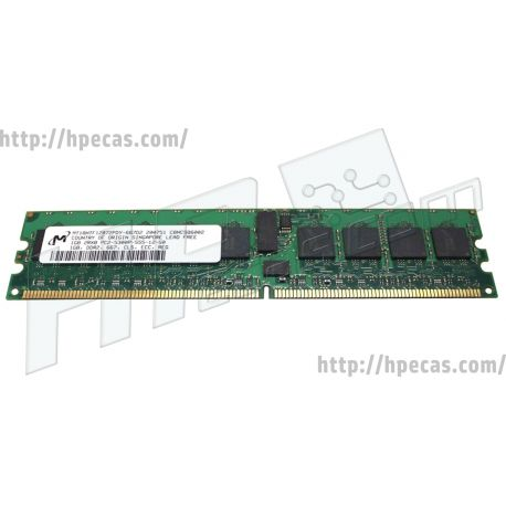 HPE 1GB (1x1GB) 2Rx8 PC2-5300R- ECC RDIMM 1.8V 240-pin Dimm (466263-001, 635205-001) R