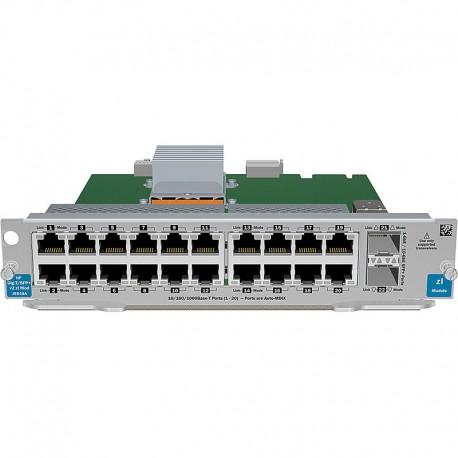 J9548A HP 20-port Gig-T / 2-port 10GbE SFP+ v2 zl Module