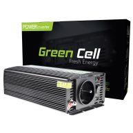 Green Cell ® Voltage Car Inverter 12V to 230V, 500W/1000W (INV03)