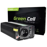 Green Cell  Voltage Car Inverter 24V to 230V, 500W/1000W (INV04)