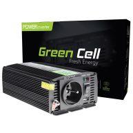 Green Cell ® Voltage Car Inverter 12V to 230V, 300W Full Sine Wave (INV05) N