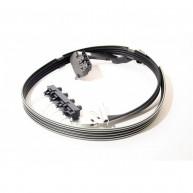 "Ink Tubes assembly HP Designjet 500, 510, 800 série 24"" (C7769-60381)"