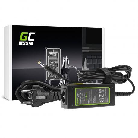 AC adapter Green Cell PRO 20V 2.25A 45W Lenovo IdeaPad 100 series Yoga 510 520 - 20V 2.25A 4.0x1.7mm (AD76P)