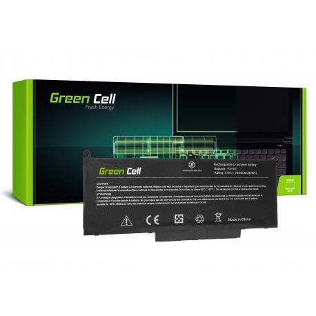 Green Cell Bateria F3YGT para Dell Latitude 7280 7290 7380 7390 7480 7490 7.6V 7894mAH (DE129)
