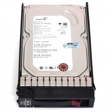 "349237-B21 HP 80GB 1.5GB/s 7.2K rpm 3.5"" LFF SATA HP G1-G7 HDD"
