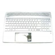 HP PAVILION 15-CS, 15-CW Top Cover com Teclado com Backlit Natural Silver Portugues sem TouchPad (9Z.NEZBQ.706, AEG7CT01010, L13318-131, L24752-131, NSK-XN7BQ PORT)