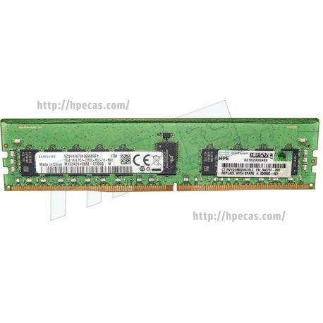 HP SM 16GB (1X16GB) 1RX4 PC4-21300V-R DDR4-2666 Registered CL19 ECC 1.2V STD (850880-001, 815098-B21, 840757-091)