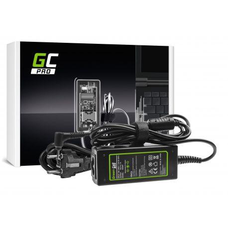 Green Cell PRO Carregador AC Adapter para Asus Eee PC 1001PX 1001PXD 1005HA 1201HA 1201N 1215B 1215N X101 X101CH X101H 19V 2.1A 40 (AD06P)