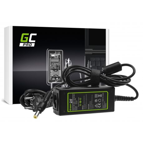 Green Cell PRO Carregador / AC Adapter para Acer Aspire One 521 522 531 751 752 753 756 A110 A150 D150 D250 19V 1.58A 30W (AD28P)