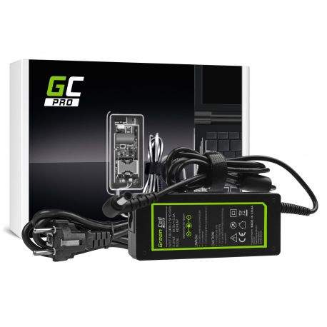Green Cell PRO Carregador AC Adapter para Sony Vaio SVF14 SVF15 SVF152A29M SVF1521C6EW SVF15AA1QM 19.5V 3.34A 65W (AD91AP)